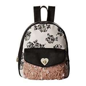 Betsey Johnson Turnlock Backpack